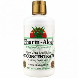 Pharm Aloe Vera Leaf Juice 4x Concentrate (32 FL. OZS.)