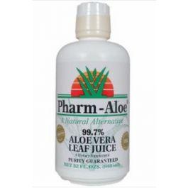 Pharm Aloe 99.7% Aloe Vera Leaf Juice (32 FL. OZS.)