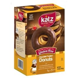Katz Chocolate Frosted Donuts Frozen (6 per Pkg)