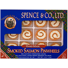 Spence & Co. Wild Smoked Salmon Pinwheels (4oz. box)