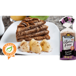 FoodforLife Raisin Pecan Bread Frozen (24oz. )
