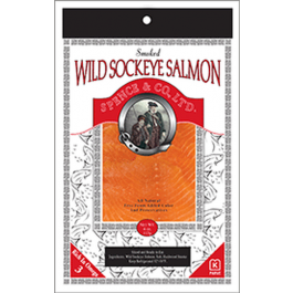 Spence & Co. Smoked Wild Sockeye Salmon (4oz.)