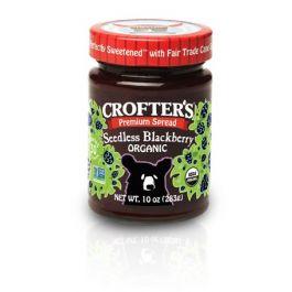 Organic Seedless Blackberry Premium Spread (10oz Jar)