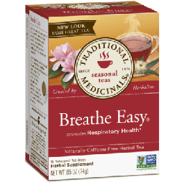 Traditional Medicinals Breathe Easy Tea (1 Box of 16 Packets)