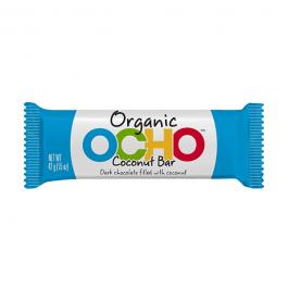 Ocho Organic Dark Chocolate Coconut Bar