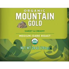 Cameron's Organic Mountain Gold Whole Bean Coffee