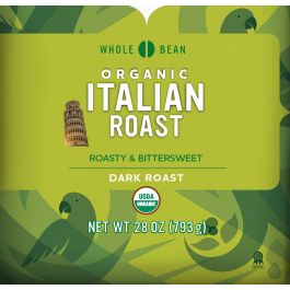 Cameron's Organic Italian Roast Whole Bean Coffee