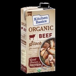 Kitchen Basics Organic Beef Stock (32oz. Box)