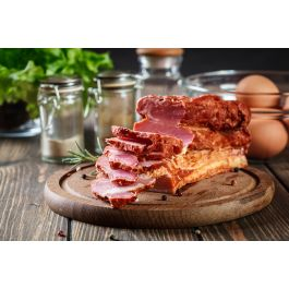 Organic Pork Bacon Applewood End Pieces 2.5lb. Pkg