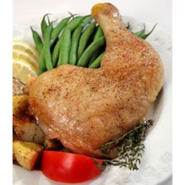 Organic Whole Chicken Leg Quarters 1 Pkg.