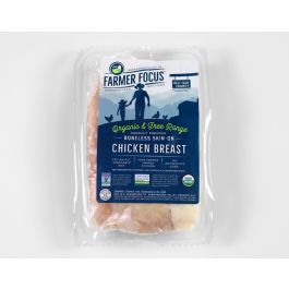Farmer Focus Organic Boneless Skin-On Chicken Breast