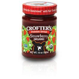 Organic Strawberry Premium Spread (10oz Jar)