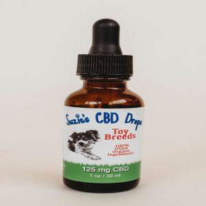 Suzie's CBD Oil for Dogs 125mg (1oz Bottle)