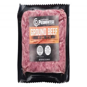All Natural Piedmontese Beef Ground 1lb. 85/15