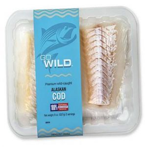 Go Wild Alaskan Cod (8 oz. )