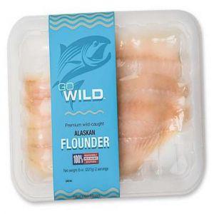 Go Wild Alaskan Flounder (8 oz. )