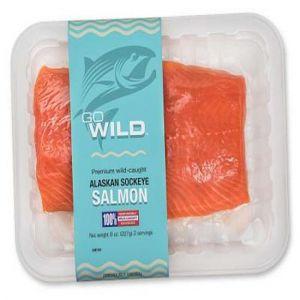 Go Wild Alaskan Sockeye Salmon (8 oz. )
