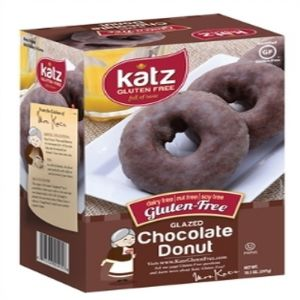 Katz Chocolate Glazed Donuts Frozen (6 per Pkg)