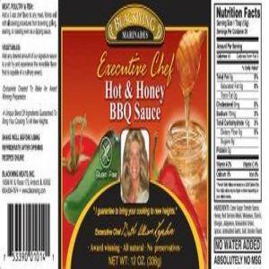 Hot & Honey BBQ Sauce (12oz Bottle)