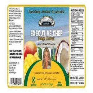 Executive Chef Mango-Coconut (12oz bottle)
