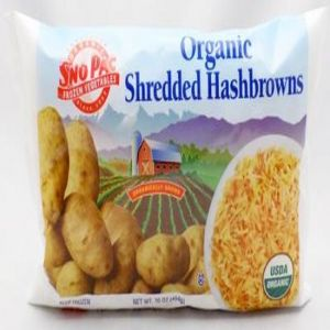 Organic Shredded Hashbrowns (16oz Bag)