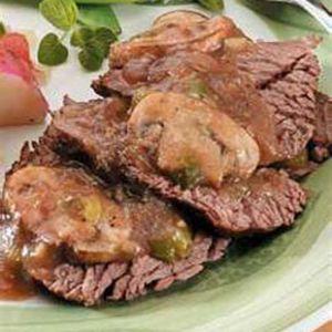Organic Beef Top Rounds 1# (1-1lb.)