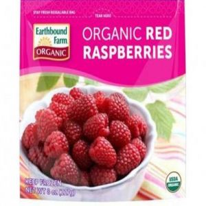 Organic Red Raspberries Frozen (8oz Bag)