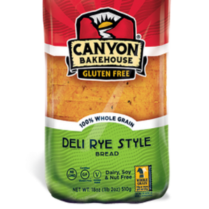 Canyon Bakehouse Deli Rye Style Bread Frozen (18oz.)