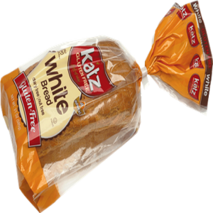 Katz White Bread Frozen (21oz)