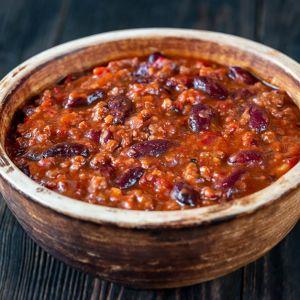 Buffalo Chili w/Beans