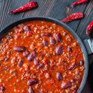 Wild Boar Chili w/Beans