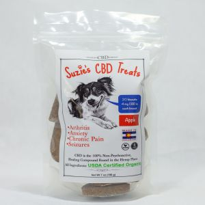 Suzie's CBD Apple Treats (7oz Bag)