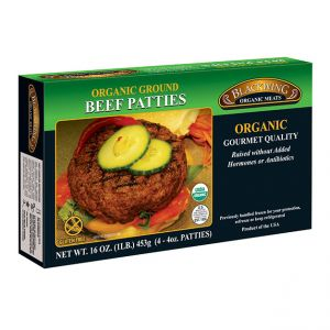 Organic Beef Patties 10-4/4oz