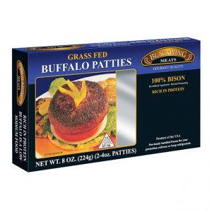Bison Patties 10-2/4oz.