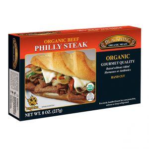 Organic Beef Philly Steak Meat 10/8oz.