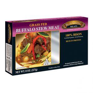 Buffalo Stew Meat 10/8oz.
