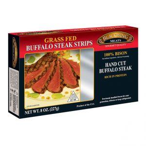 Bison Steak Strips 10/8oz.