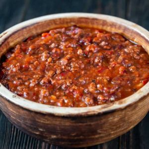 Homemade Bison Chili