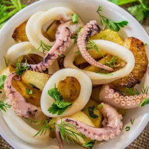 Wholey All Natural Cleaned Calamari Rings & Tentacles