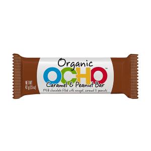 Ocho Organic Caramel & Peanut Bar
