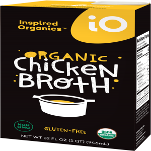 Inspired Organics (iO) Organic Chicken Broth 32oz