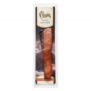 Echo Falls Hot Smoked Coho Salmon Cajun Spice 4oz Fillet