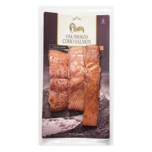 Echo Falls Oak Smoked Coho Salmon Trio 12oz Pack