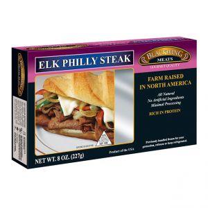 Elk Philly Steak 10/8oz.