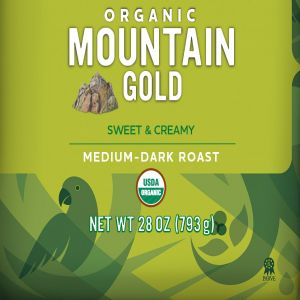 Cameron's Organic Mountain Gold Whole Bean Coffee