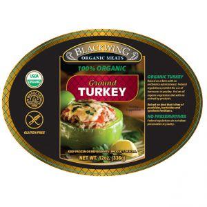 Organic Turkey Ground 10/12oz.