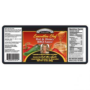 Hot & Honey BBQ Sauce 10/12oz. Bottles