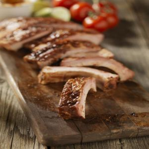 Organic Pork Baby Back Ribs (1 Rack)