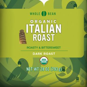 Cameron's Organic Italian Roast Whole Bean Coffee