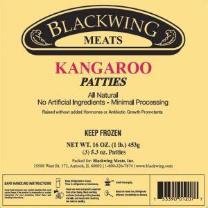 Kangaroo Burgers 3/5.3oz.